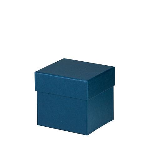 Rössler S.O.H.O. Boxline Kartonage quadratisch 105x105x105mm Navy 4er Satz