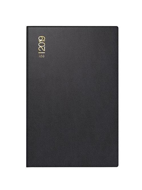 Rido Industrie II 2022 7,5x11,2cm Modell 16212 - Kunststoff-Einband Schwarz