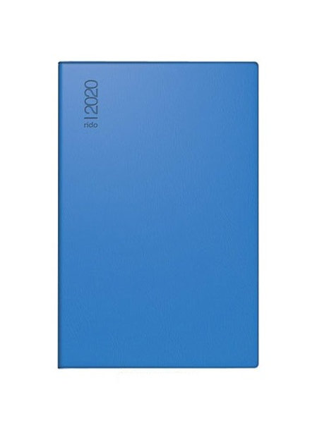 Rido Industrie II 2022 7,5x11,2cm Modell 16212 - Kunststoff-Einband Blau
