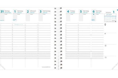 Quo Vadis Time & Life 2022 16x16cm - Kalender-Einlage