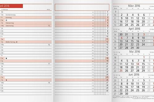 Rido TM12 2022 8,7x15,3cm Modell 40300 - Kalender-Einlage
