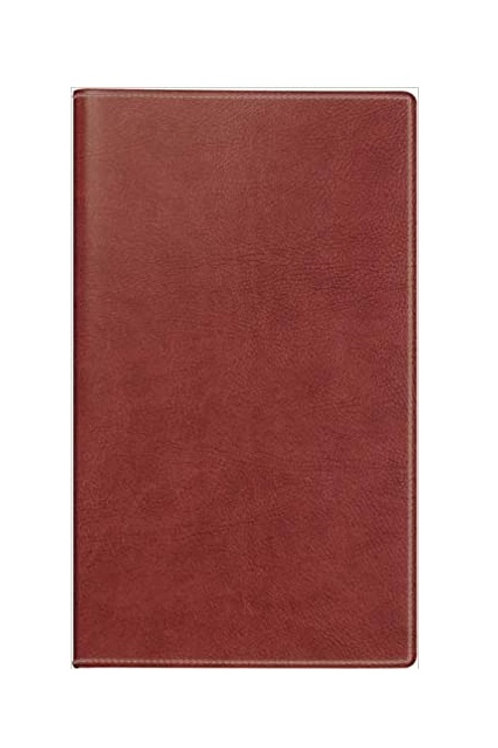 Rido D15 2022 8,7x15,3cm Modell 45424 Kunstleder-Einband Prestige Rotnraun