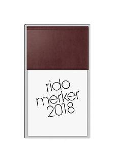 Rido Merker 35003 Miradur-Einband Rot ..
