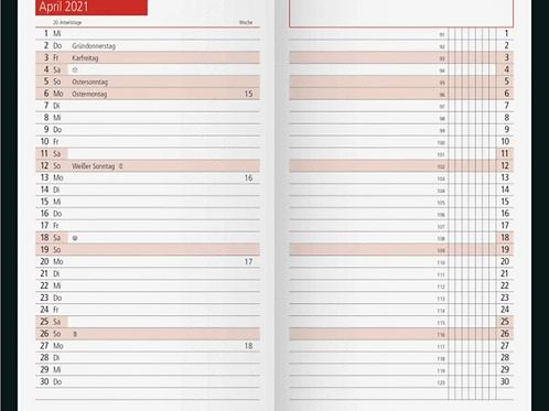 Rido TM11 2022 8,7x15,3cm Modell 40200 - Kalender-Einlage