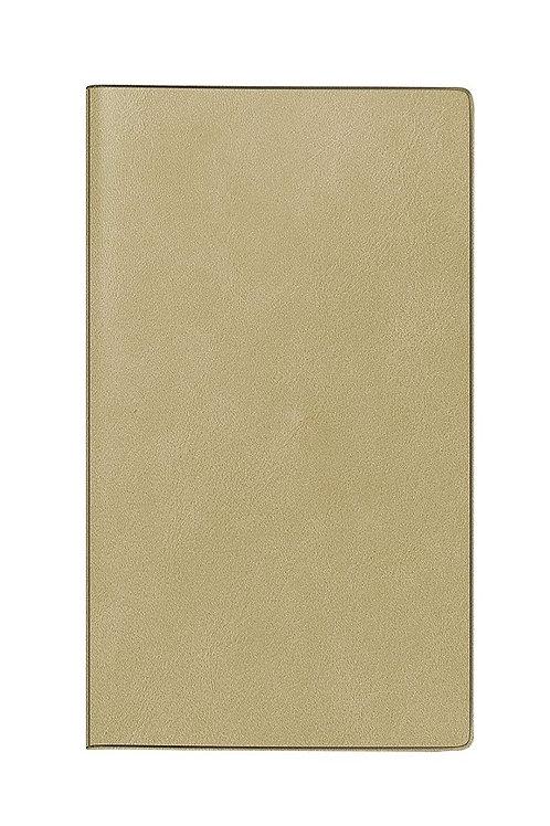 Rido TM12 2022 8,7x15,3cm Modell 40325 - Kunstleder-Einband Hellbraun
