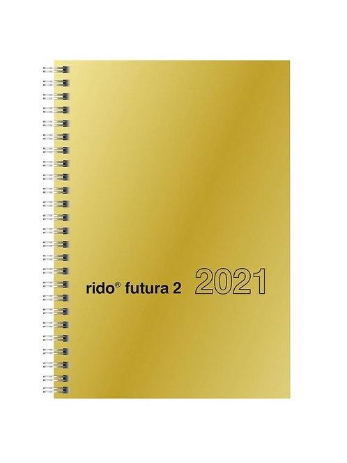 Rido Futura 2 2022 14,8x20,8cm Modell 21121 - Glanzkarton Gold
