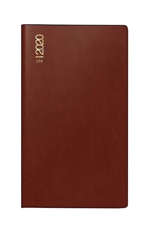 Rido uni-planer 2022 10,4x15,3cm Modell 48002 Kunststoff-Einband Bordeaux