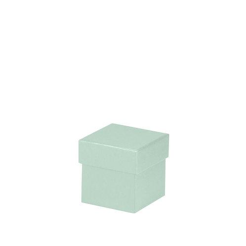 Rössler S.O.H.O. Boxline Kartonage quadratisch 65x65x65mm Mint 4er S