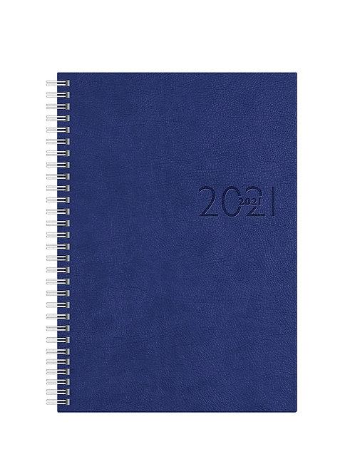 Rido Studioplan int. 2022 16,8x24cm Modell 23036 - Kunstleder-Einband Blau