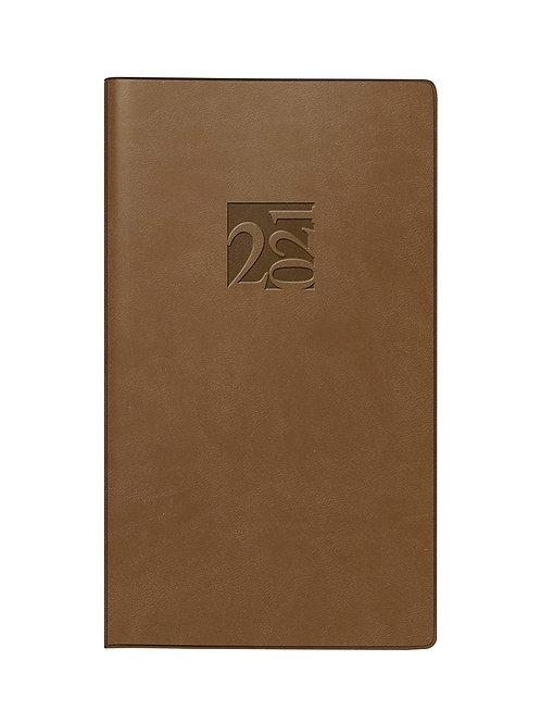 Rido Taschenplaner int 2022 8,7x15,3cm Modell 16903 Kunstleder-Einband Braun