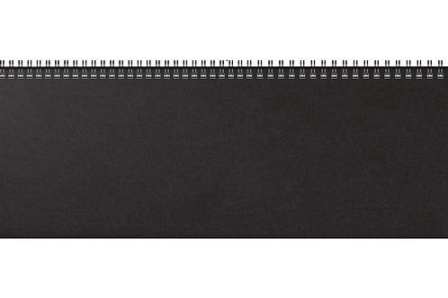 Rido Futura 5 2022 42x13,7cm Modell 31642 Kunststoff-Einband Schwarz