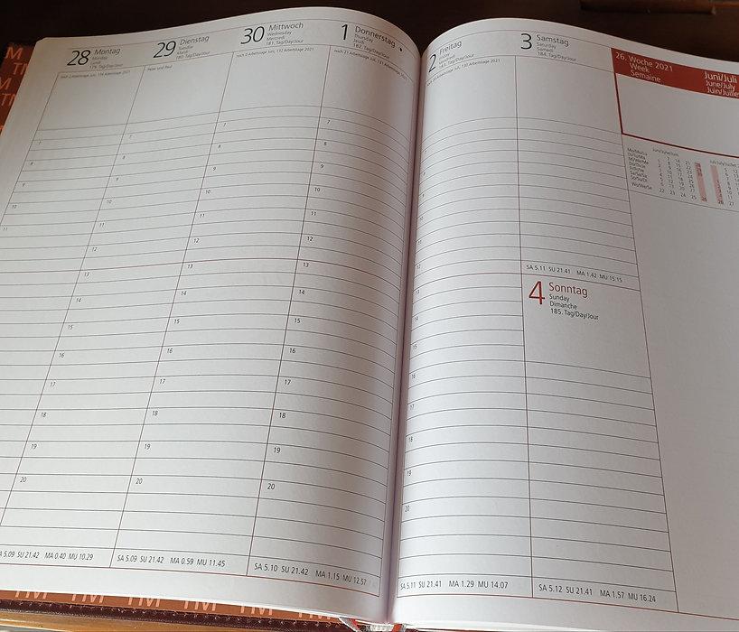 Rido Managerkalender TM