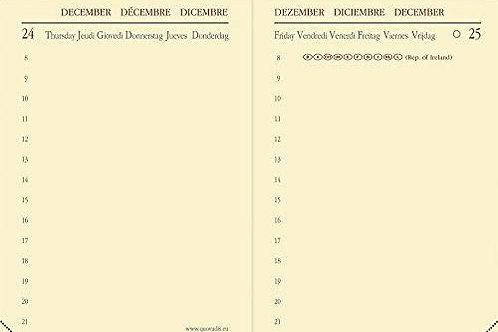 Quo Vadis Miniday 2022 7x10cm - Kalender-Einlage