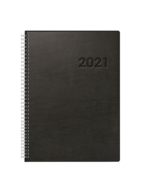 Rido Conform 2022 21x29,1cm Modell 27501 - Kunststoff-Einband Schwarz Wire-O