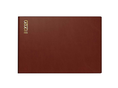 Rido Septimus 2022 15,2x10,2cm Modell 17502 - Kunststoff-Einband Bordeaux