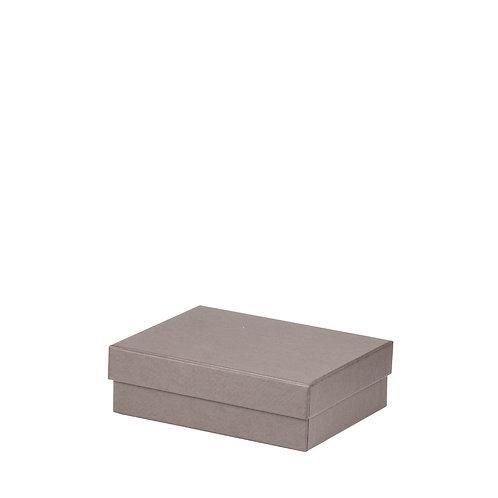 Rössler S.O.H.O. Boxline Kartonage rechteckig 140x190x60mm Taupe 3er Satz