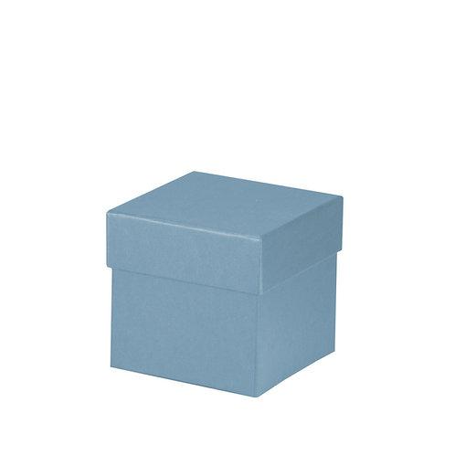 Rössler S.O.H.O. Boxline Kartonage quadratisch 105x105x105mm Denim 4er Satz