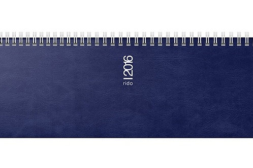 Rido septant 2022 30,5x10,5cm Modell 36132 Schaumfolien-Einband Catana Blau