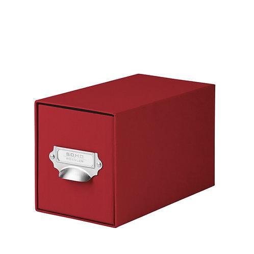 Rössler S.O.H.O. CD-Schubladenbox mit Griff Rot
