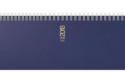 Rido ac 2022 29,7x10,5cm Modell 31302 Hartfolien-Einband Blau