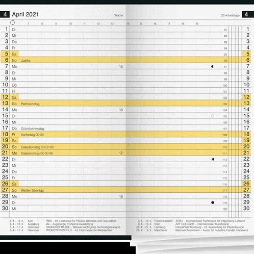 Rido D15 2022 8,7x15,3cm Modell 45600 Kalender-Einlage