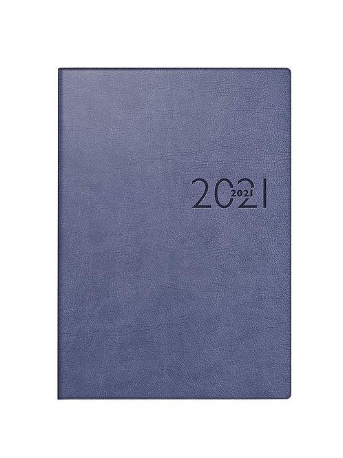 Rido Studioplan int. 2022 16,8x24cm Modell 23016 - Kunstleder-Einband Blau