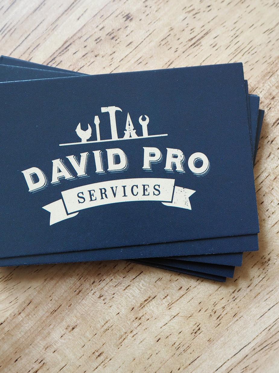 Refonte logo, David Pro Services