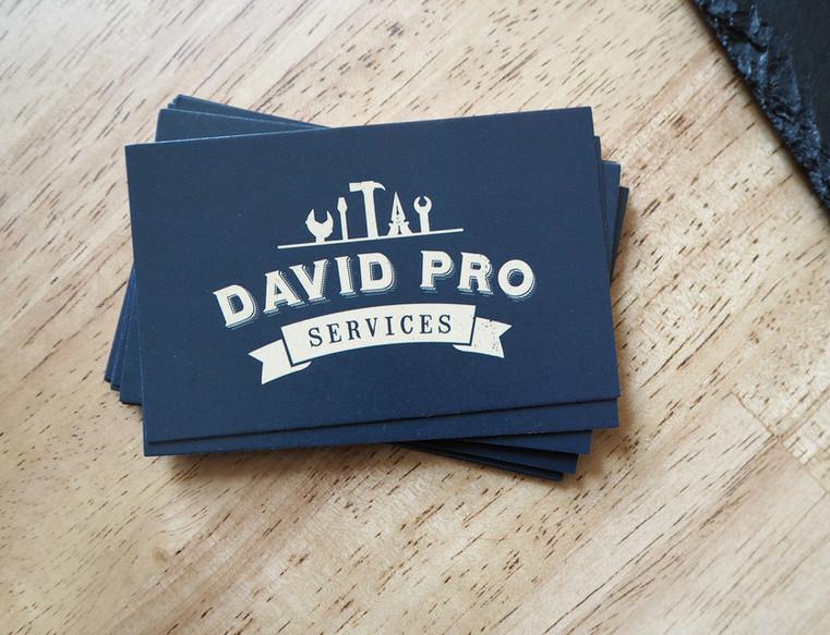 Carte de visite David Pro Services