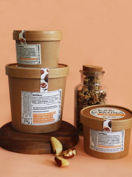 Packaging, Raw Granola