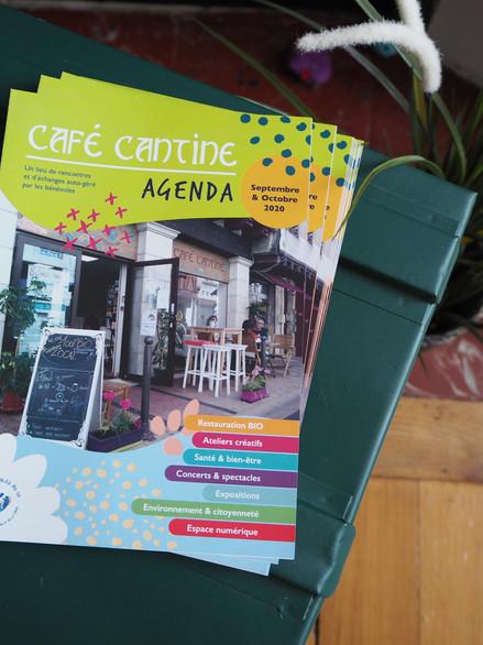 Dépliant, Café Cantine