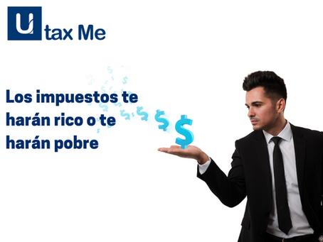 Impuestos para emprendedores: Los impuestos te harán rico o te harán pobre 😱