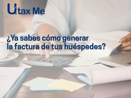 ¿Ya sabes cómo generar la factura a tus huéspedes?