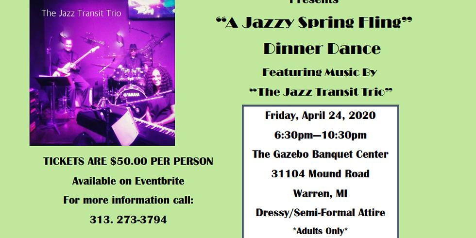 A Jazzy Spring Fling Dinner Dance