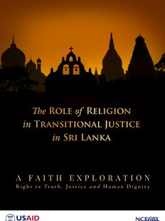 The role of religion in transitional justice - English