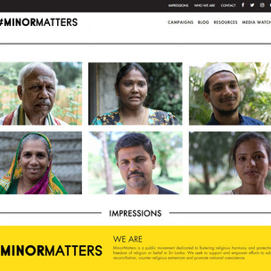 MinorMatters Initiatives
