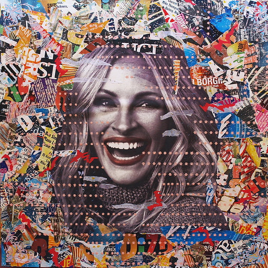 Happy Julia By Billon Art - 125 x 125 cm