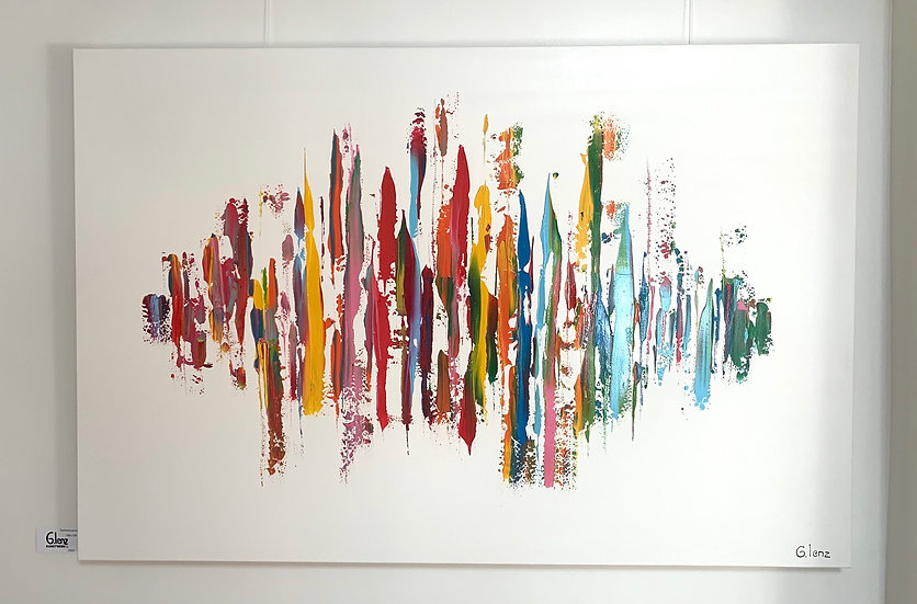 Sold! Sophisticated By Greet L. - 150 x 100 cm