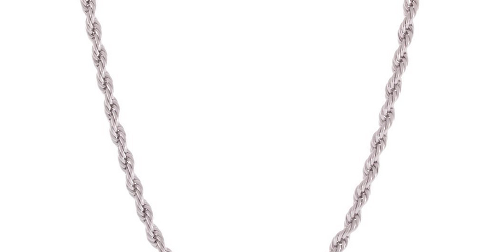ROPE CHAIN SILVER 3MM