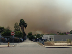 Firestorm cloud near work, Escondido 5.15.14 1pm