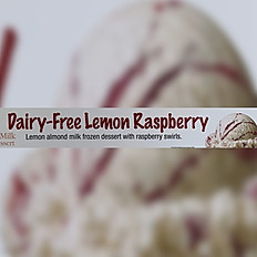 Dairy Free Lemon Raspberry