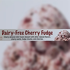 Dairy Free Cherry Fudge