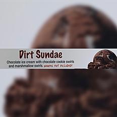 Dirt Sundae