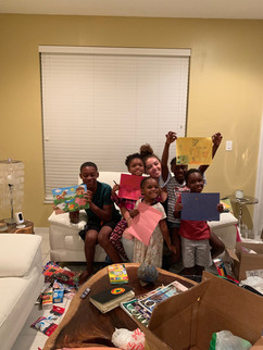 Checking in on a family that survived in Miami that evacuated from Abaco before we head to bahamas.