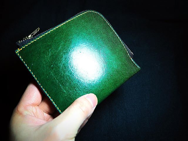 植鞣山羊皮拉鏈袋 GOAT SKIN POCKET WALLET