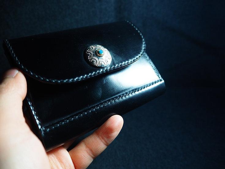馬臀皮日式立體卡盒 CORDOVEN CARDHOLDER