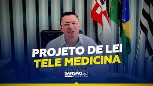 Vereador Sansão Pereira propõe atendimentos médicos por videoconferência no SUS