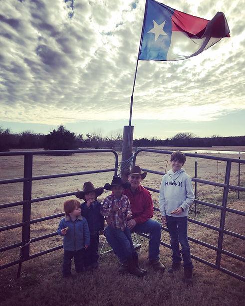 Zeke's birthday party at Circle D Ranch.
