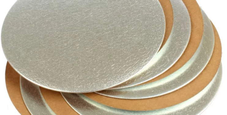 Thick Cake Boards Round Gold