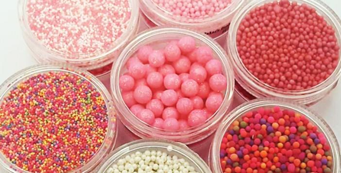 Sugar Pearls Glitter 4mm