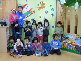 奈良保育学院様よりクリスマスカードを頂きました。